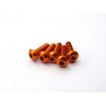 Aluminium Screws Orange