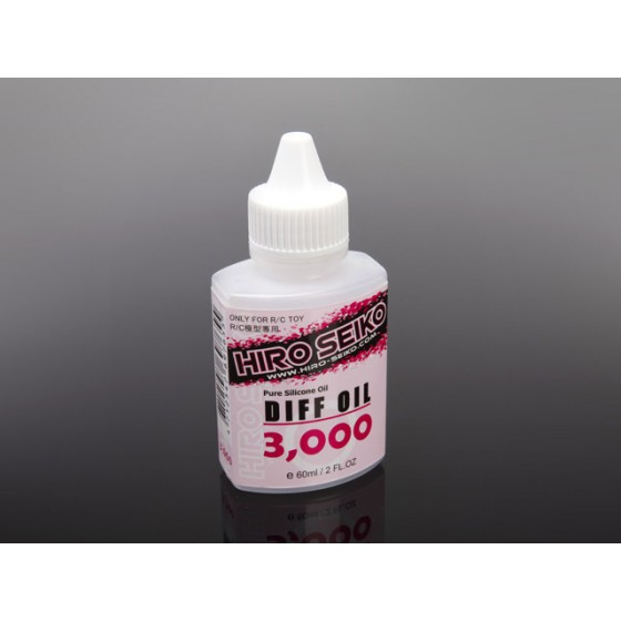 Hiro Seiko R/C Toy Accessories Diff Oil  (#3,000 cps) 60ml