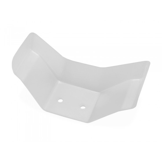Jconcepts Aero lower front wing, 2pc. (requires front wing mount, not included)