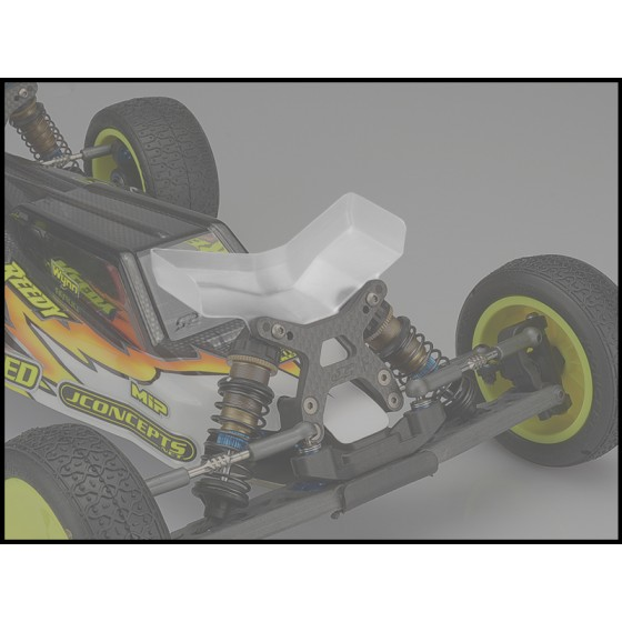 Jconcepts Aero B6 | B6D | B6.1 front wing, Fits flat front arm - wide, 2pc