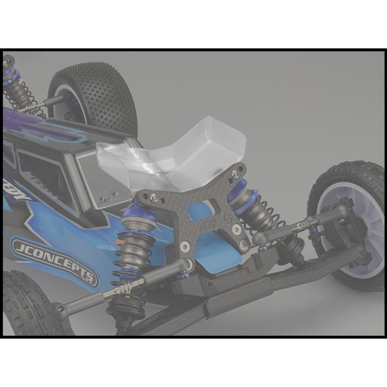 Jconcepts Aero B6 | B6D | B6.1 front wing, Fits gullwing front arm - narrow, 2pc