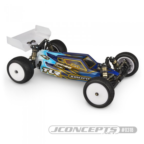 Jconcepts S2 - TLR 22 4.0 body w/ Aero wing