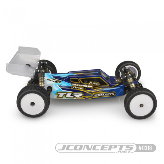 Jconcepts S2 - TLR 22 4.0 body w/ Aero wing - Light-weight