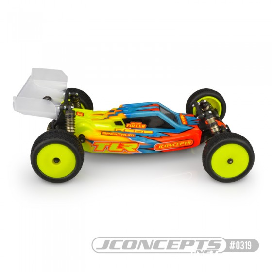 Jconcepts F2 - TLR 22 4.0 body w/ Aero wing