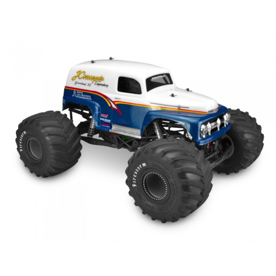 Jconcepts 1951 Ford Panel truck Grandma - (Fits - Axial SMT10 - 7 width & 11 wheelbase)