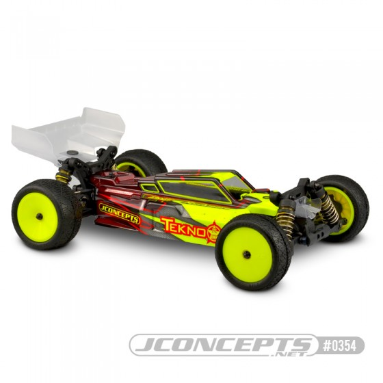 Jconcepts F2 - Tekno EB410 body w/ Aero S-type wing