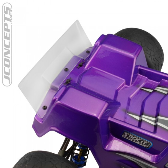 Jconcepts F2 - T6.1 Finnisher body w/ rear spoiler - light-weight