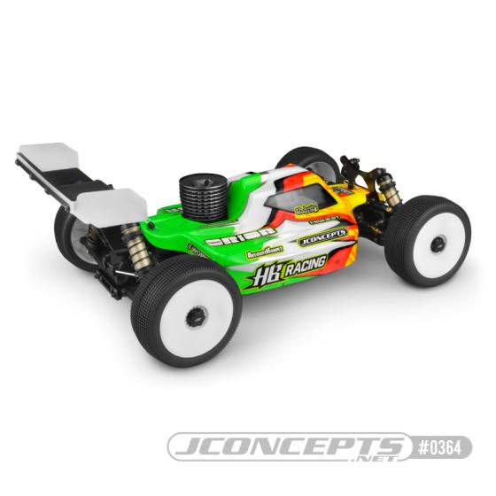 JConcepts Silencer Clear Body Light Weight RC8B3.1 JCO0371L