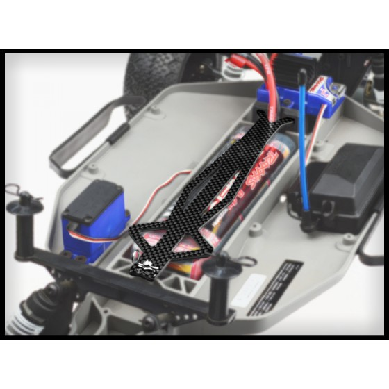 Jconcepts Traxxas Slash / Slash 4x4 Monroe Carbon Fiber battery brace