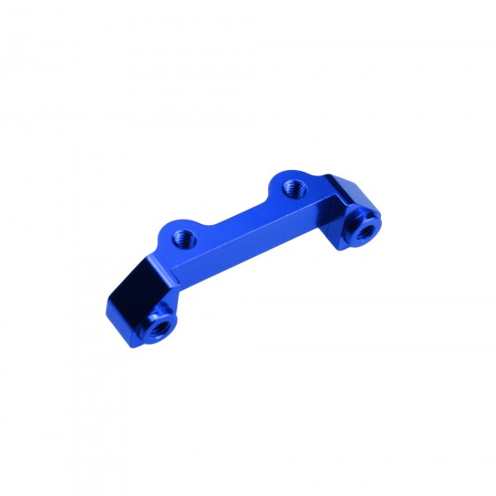 Jconcepts Traxxas Slash 4x4, rear shock tower mount - blue
