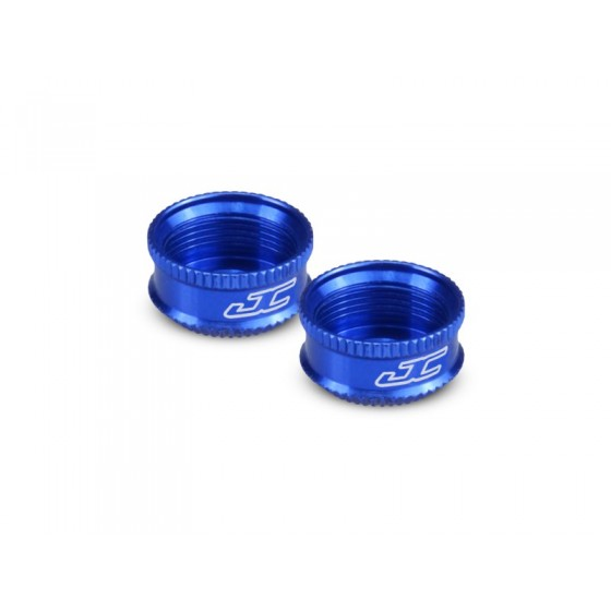 Jconcepts Fin, VCS shock bottom cap - blue