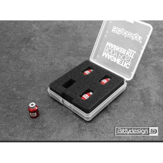 Bittydesign Body Post Marker kit Red