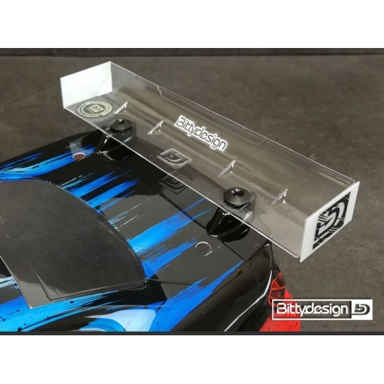 Bittydesign Rear Hard wing 190mm - Modified spec [Universal]