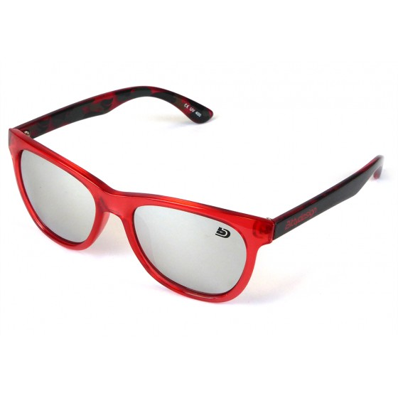 Bittydesign Venice Passion Sunglasses (Red Frame,Chrome Mirror Lens)