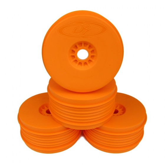 DE Racing Speedline Plus 1/8 Buggy Wheels (4pcs/Orange)