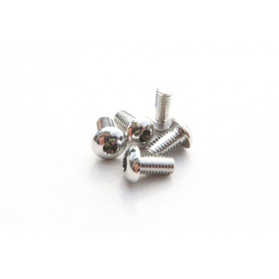 Hiro Seiko Alloy Hex Socket Button Head Screw M3x10 [Silver]