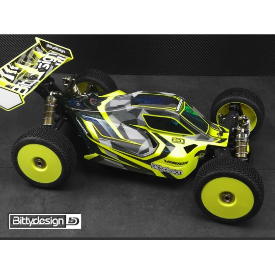 Bittydesign Vision S-Workz S35-3E Body Clear (precut)