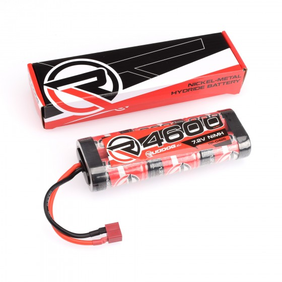 RUDDOG 4600mAh 7.2V NiMH Stick Pack with T-Style Plug