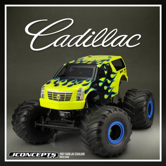 JConcepts 2007 Cadillac Escalade Body 7 Width /& 12.5 Wheelbase JCO0436