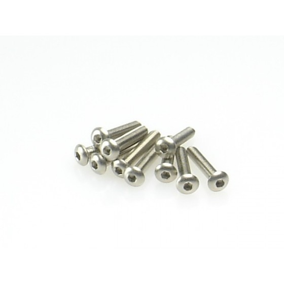 Hiro Seiko Hex Socket Button Head Screw M3x20 ( 10 pcs)